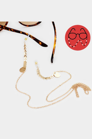 Chevron Sunglasses Chain