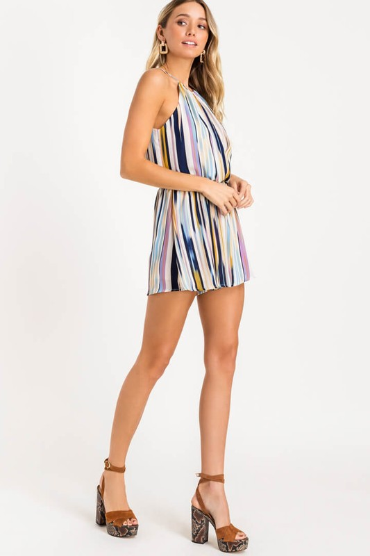 Chasing Waterfalls Romper