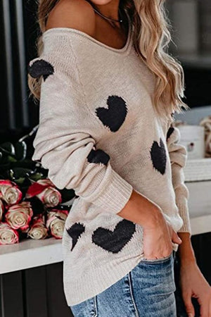 All My Heart Sweater in Black