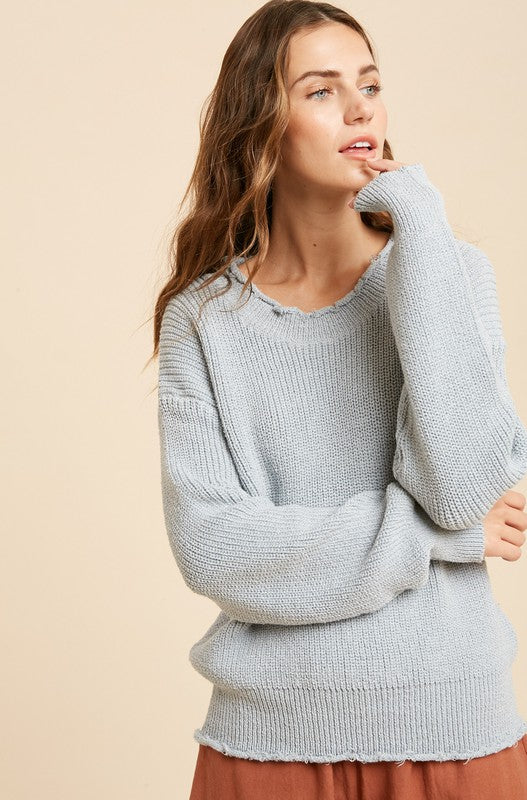 Blue For You Sweater