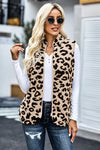 Perfectly Cozy Leopard Vest