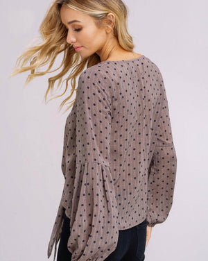 Dots For Days Blouse
