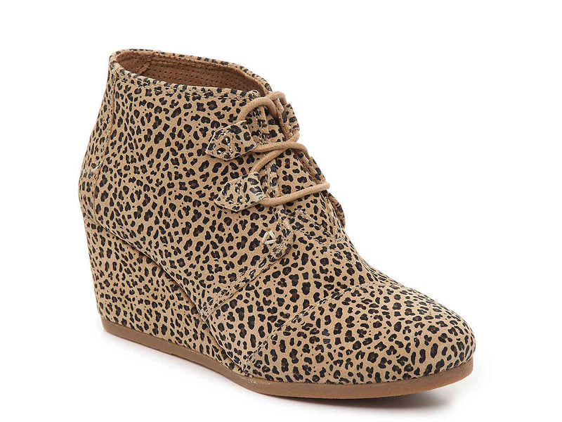 TOMS Cheetah Wedge