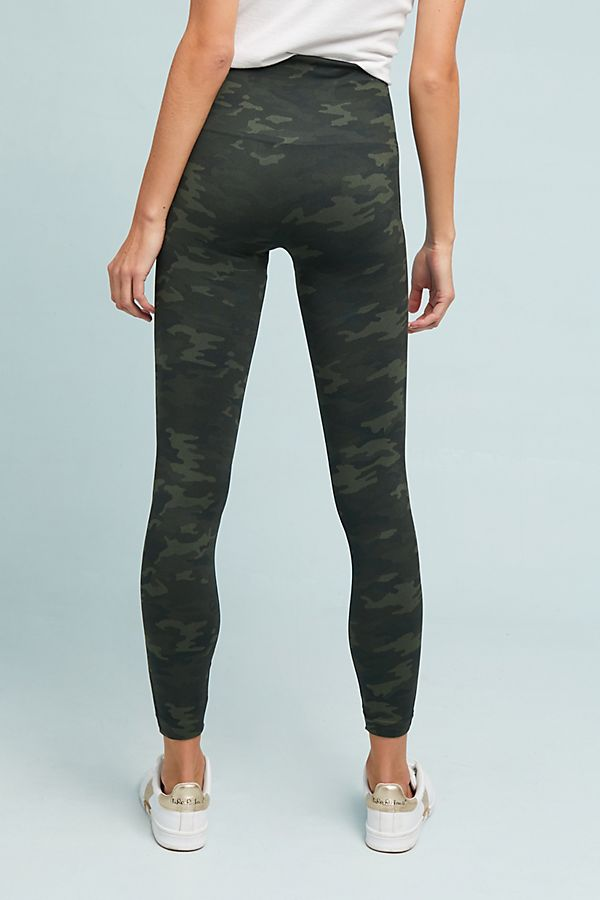 Spanx Green Camo Leggings