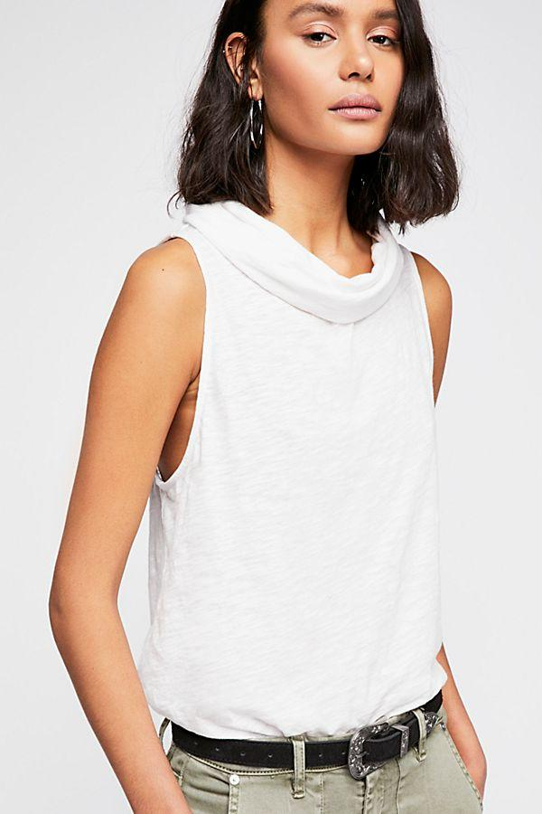 Free People Summer Thing Tank in White