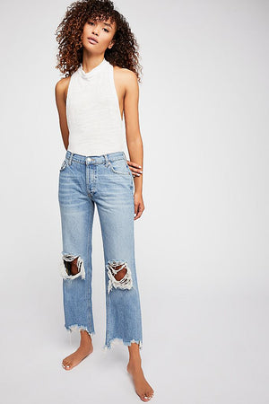 Free People Maggie Denim