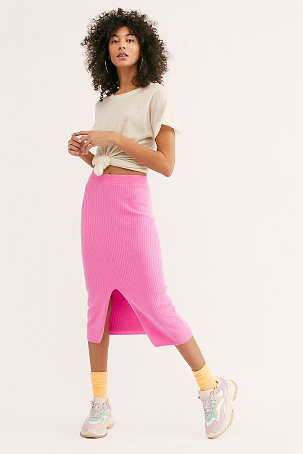 Free People Skyline Midi Skirt