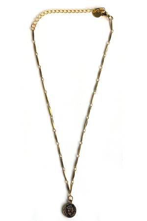 Kristalize Joplin Coin Necklace