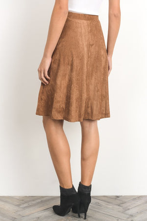 You're So Suede Skirt