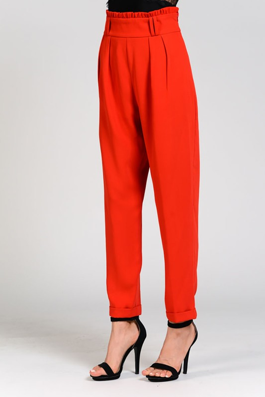 The Willow Pant in Red