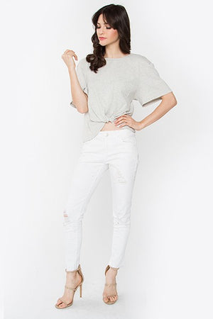 Ashley Knit Twist Top
