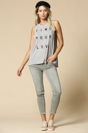 Find Your Love Muscle Tank