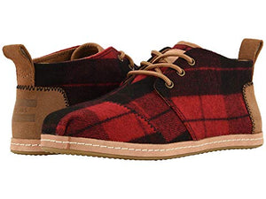 TOMS Buffalo Plaid Bota Shoes