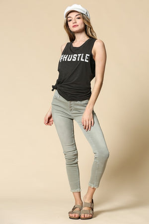 Hustle Graphic Tank