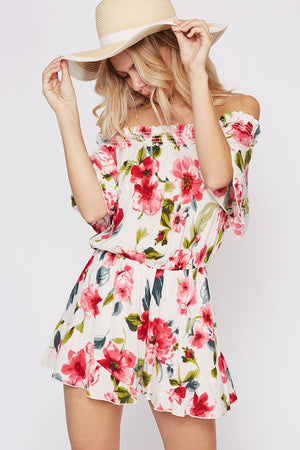 Pretty in Floral Romper