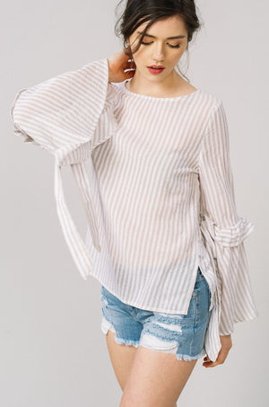 Love & Bell Sleeves Top