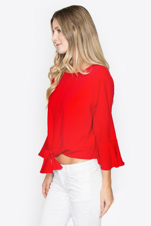 Sea of Red Blouse