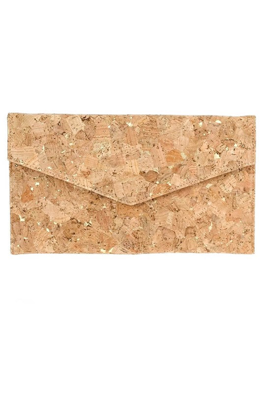 Love & Cork Envelope Clutch