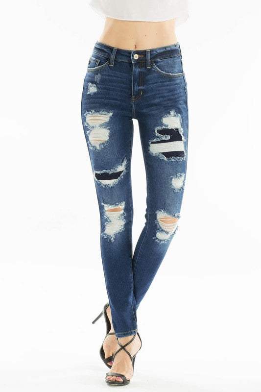 Kancan Hadley High Rise Denim