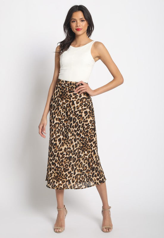 Wild At Heart Midi Skirt