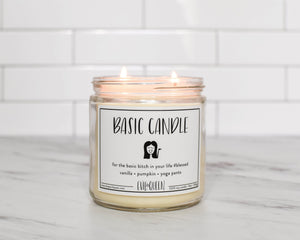 Evil Queen Basic Candle Double Wick Candle