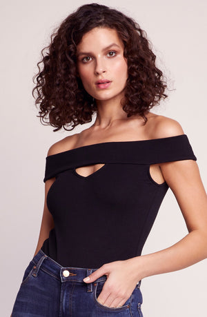 BB DAKOTA JOPLIN OFF THE SHOULDER BODYSUIT