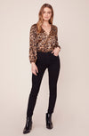 BB Dakota Ride Or Tie Leopard Bodysuit