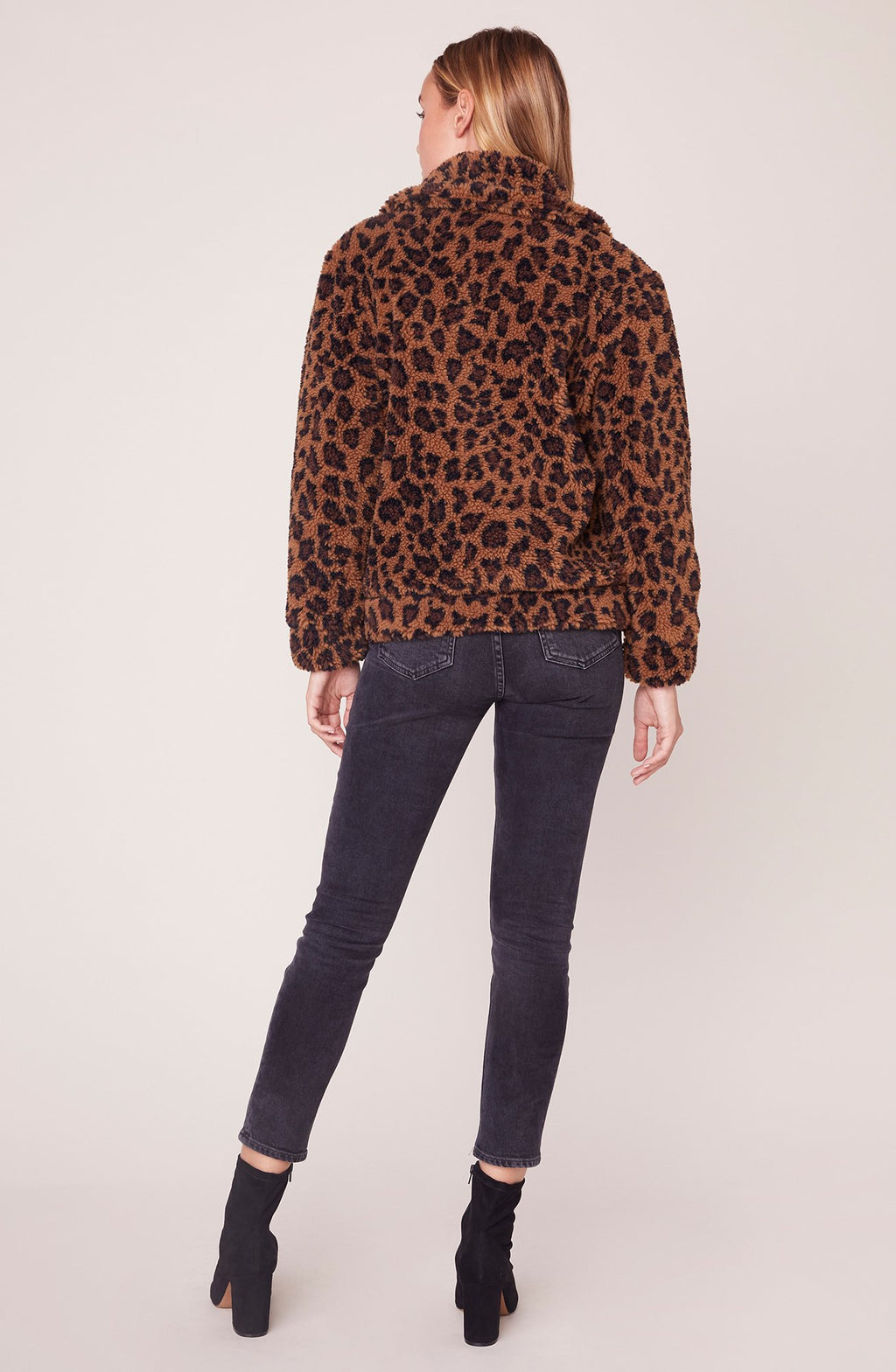 Leopard Teddy Jacket by BB Dakota