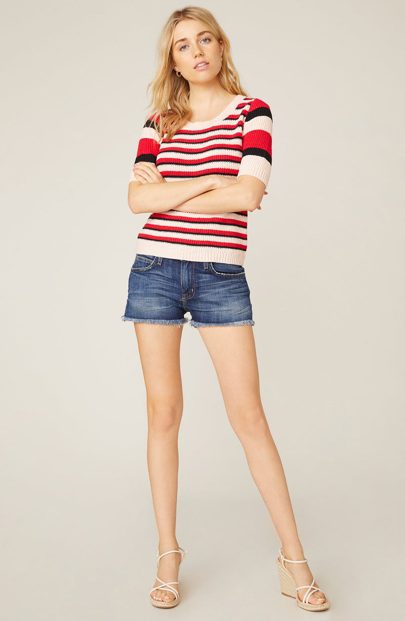 We Found Love Short Sleeve Sweater