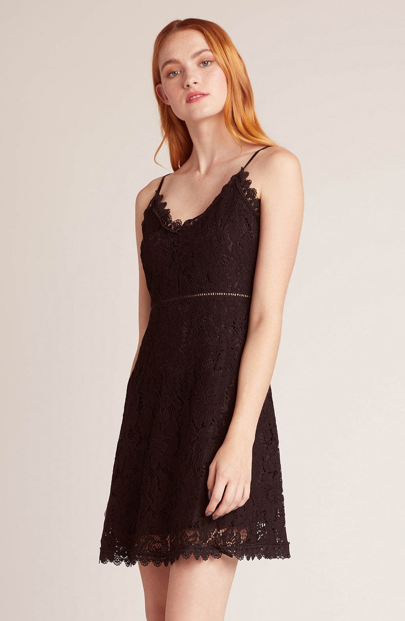 JACK BY BB DAKOTA LACE THE MUSIC LACE DRESS