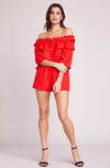 JACK BY BB DAKOTA Showstopper Off The Shoulder Romper