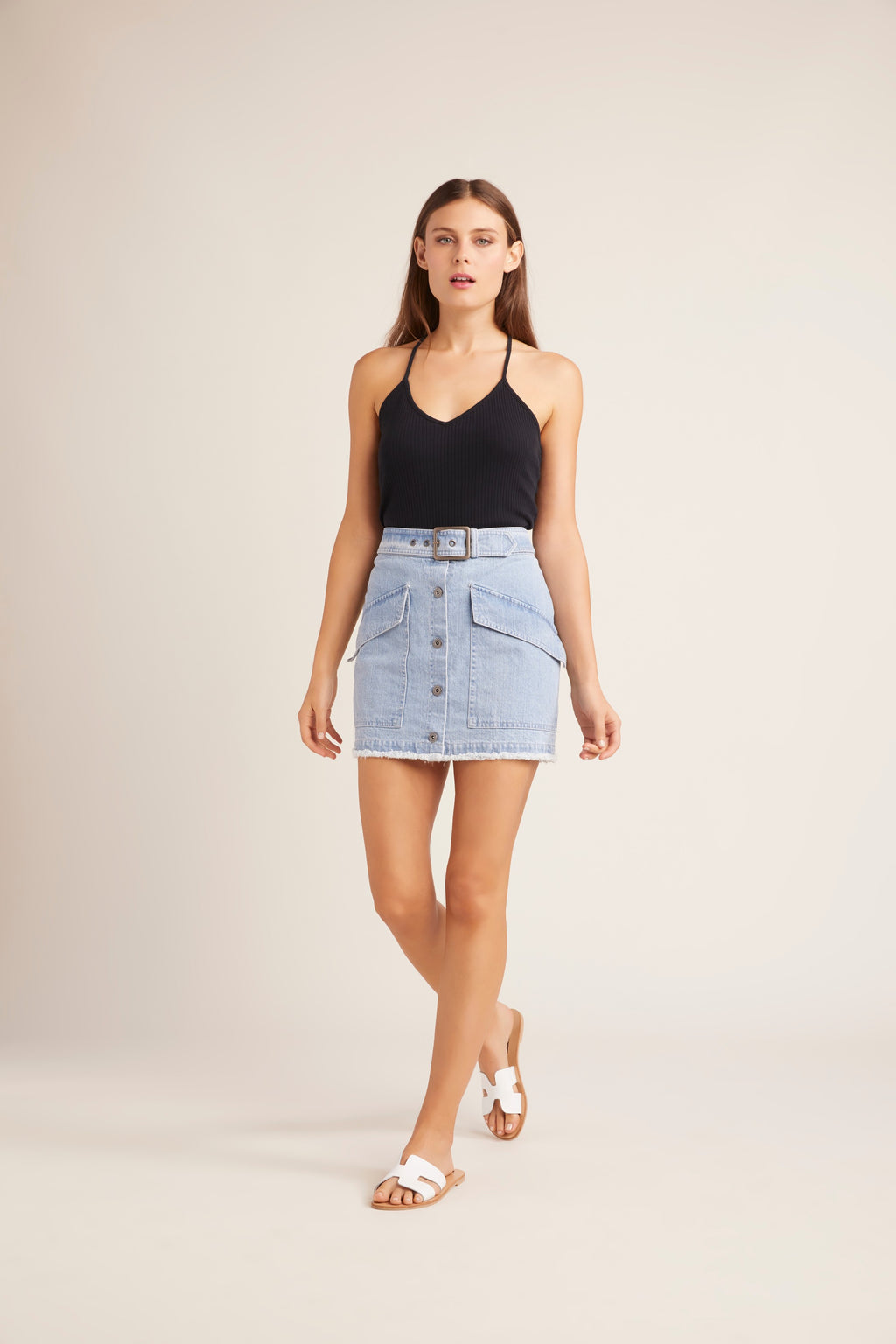 JACK BY BB DAKOTA I Dream of Jeanie Denim Skirt