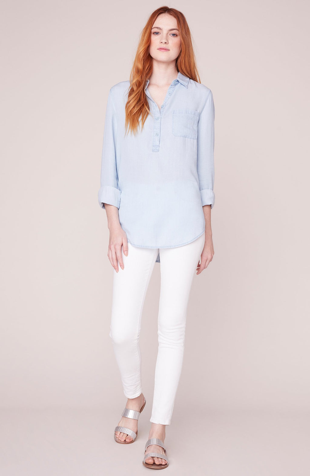 JACK BY BB DAKOTA Wash My Worries Chambray Tunic