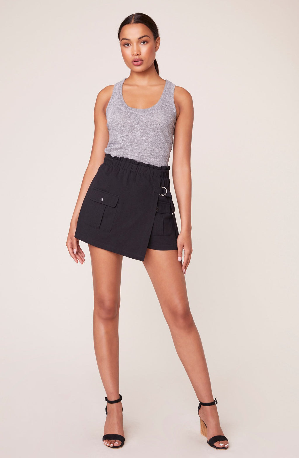 JACK By BB Dakota BEST OF BOTH WORLDS PAPER BAG SKORT