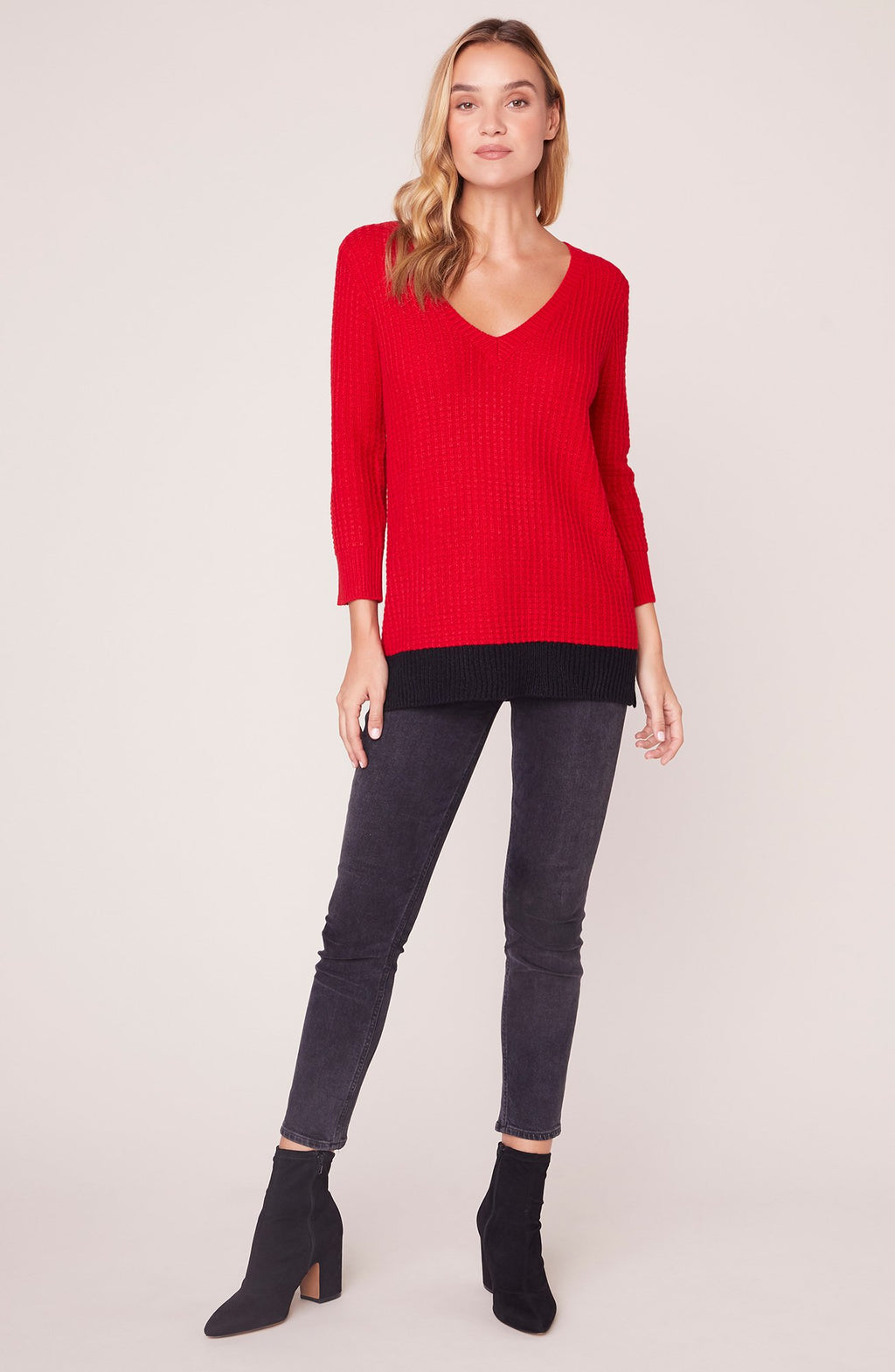 JACK By BB Dakota Block It Out Sweater