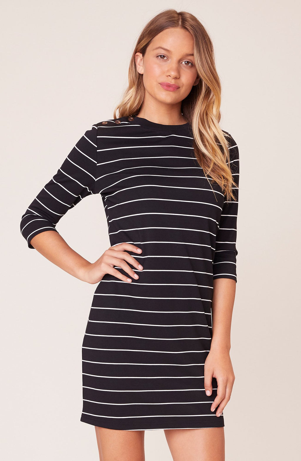 JACK By BB Dakota My Stripe Of Gal Striped Shift Dress
