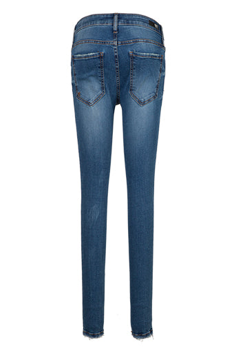 Kut from the Kloth Connie Ankle Skinny in Consciously Medium Wash