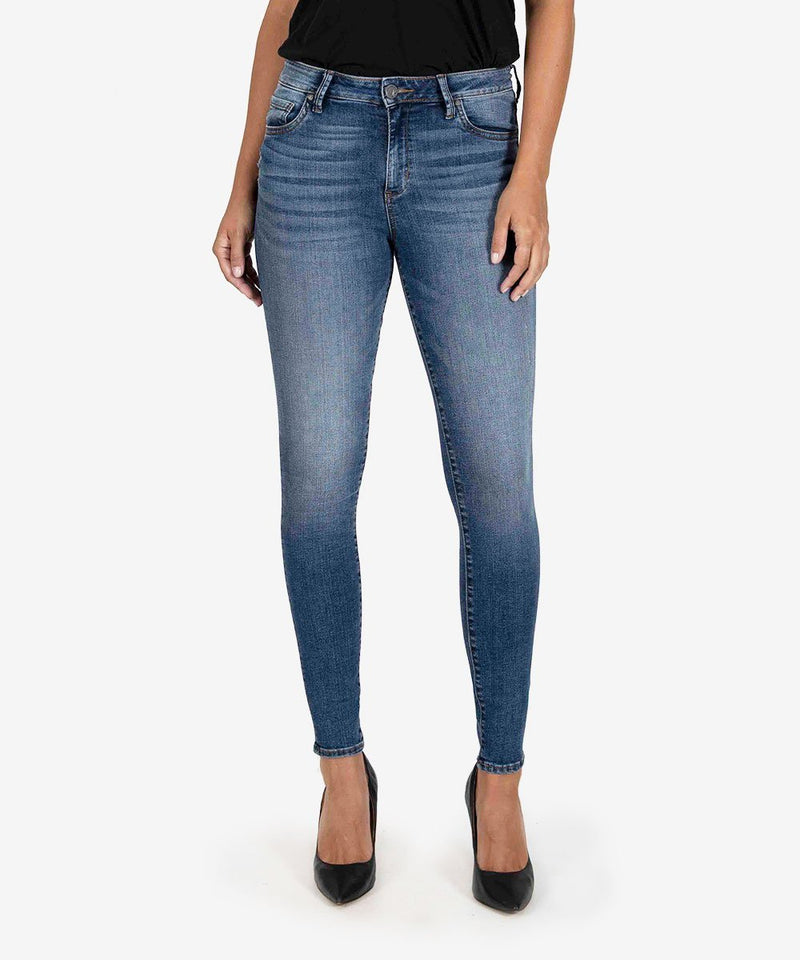 KUT from the Kloth High Rise Fab Ab Mia Skinny
