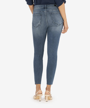 KUT From The KLOTH High Rise Connie Ankle Skinny (ERUDITE WASH)