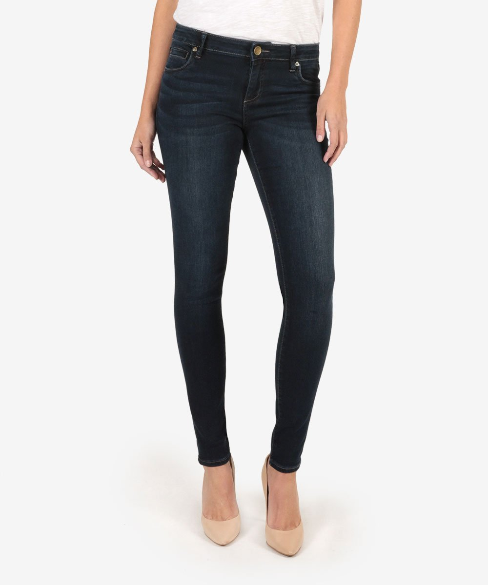 Kut From The Kloth Mia Toothpick Skinny in Ultra Dark Wash