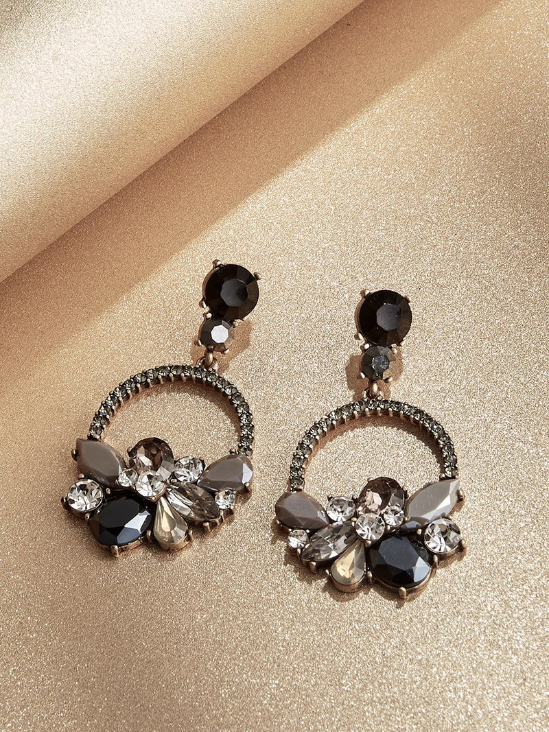 Olive+Piper Midnight Wreath Drop Earrings