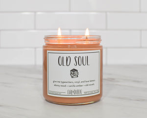 Evil Queen Old Soul Double Wick Candle