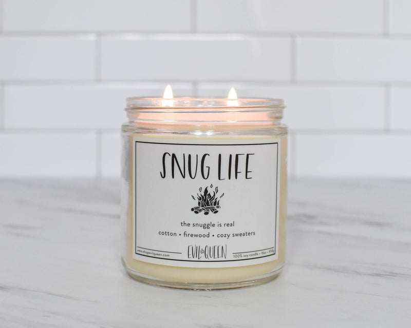 Evil Queen Double Wick Snug Life Candle