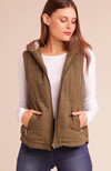 JACK by BB Dakota Hey-Ya Vest in Olive