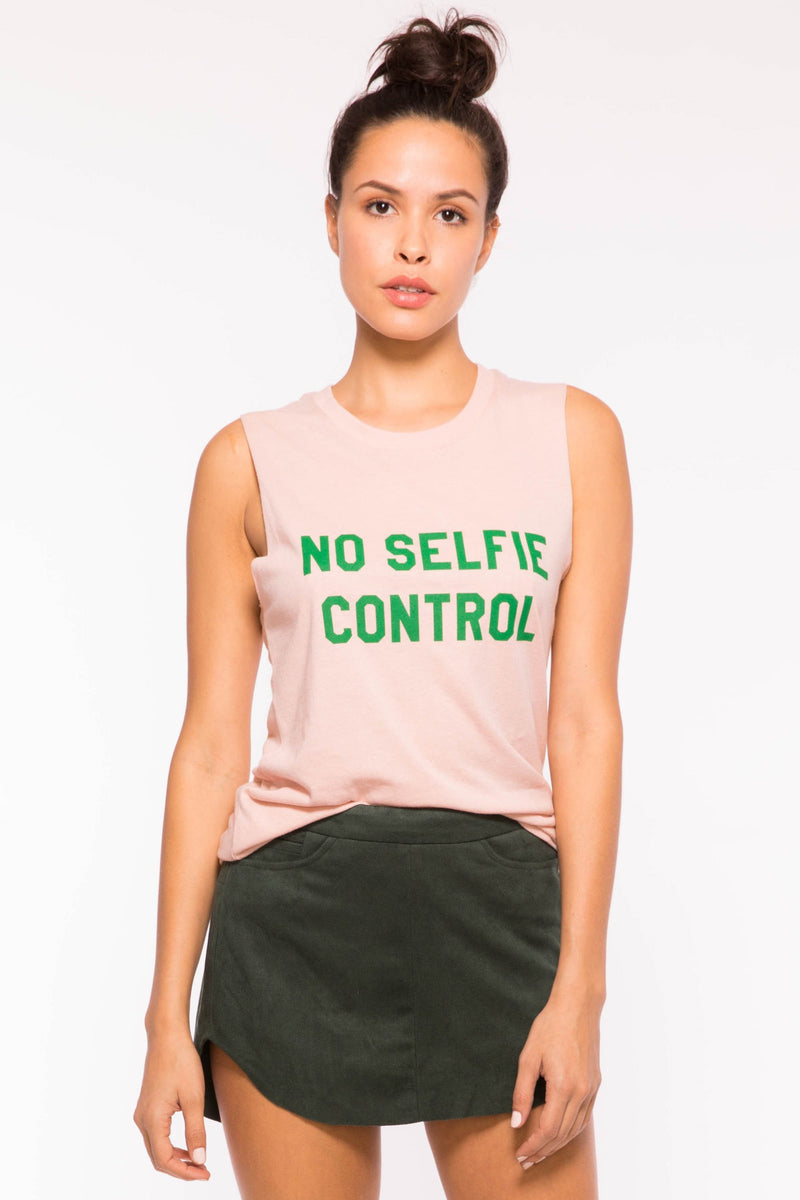 Sub_urban Riot No Selfie Control Muscle Tank