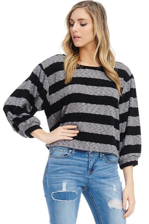Sundays Are For Stripes Sweater