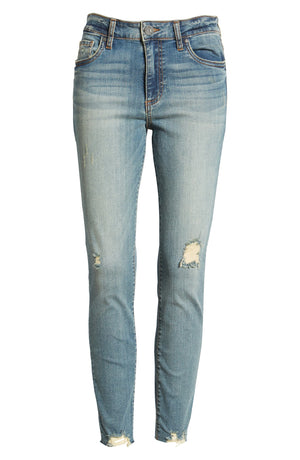 KUT from the Kloth High Rise Distressed Connie