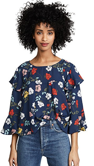 Jack By BB Dakota Blissed Out Blouse