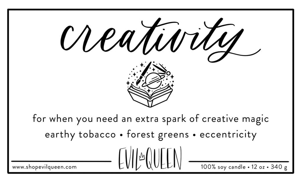 Evil Queen Creativity Candle