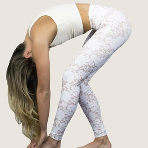 DYI Signature Printed Tight Beige White Floral